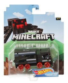 Spider | Minecraft 5/7 | Character Cars | Hot Wheels