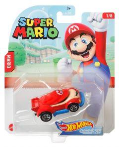 Mario | Super Mario 1/8 | Character Cars | Hot Wheels
