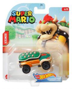 Bowser | Super Mario 6/8 | Character Cars | Hot Wheels