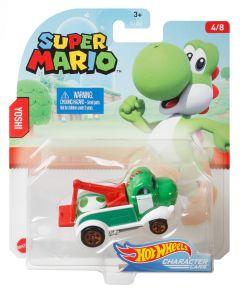 Yoshi | Super Mario 4/8 | Character Cars | Hot Wheels