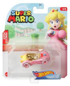 Princess Peach | Super Mario 3/8 | Character Cars | Hot Wheels