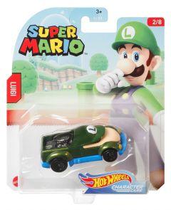 Luigi  | Super Mario 2/8 | Character Cars | Hot Wheels