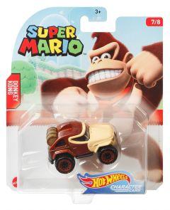 Donkey Kong | Super Mario 7/8 | Character Cars | Hot Wheels