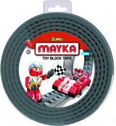 Grey 2 Stud Mayka Toy Block Tape