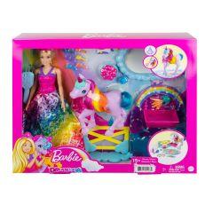 Barbie Dreamtopia Playset with Barbie Doll, Pet Unicorn & Color Change Potty Feature