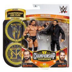 Drew McIntyre VS Seth Rollins | Championship Showdown Series 4 | WWE Action Figures