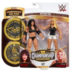 Chyna VS Trish Stratus   Championship Showdown Series 5   WWE Action Figures