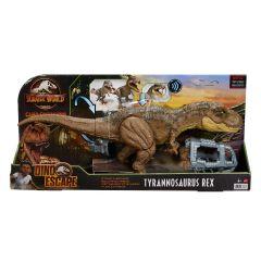 Stomp 'N Escape Tyrannosaurus Rex Figure | Dino Escape | Camp Cretaceous | Jurassic World