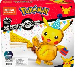 Pikachu Celebration | Pokemon | Mega Construx