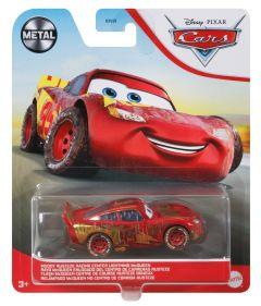 Muddy Rusteze Racing Center Lightning McQueen   Metal   Disney Pixar Cars
