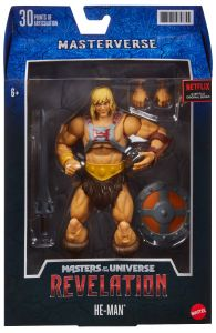 He-Man Classic Masterverse Action Figure   Masters of the Universe Revelation