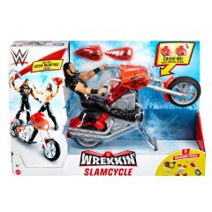 Wrekkin Slamcycle | WWE Playset With Drew McIntyre Action Figure
