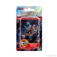 Halfling Fighter (She/Her/They/Them) | Icons Of The Realms Premium Figure | Wave 4 | Wizkids