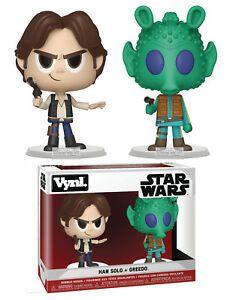 Han Solo & Greedo Star Wars VYNL 2 Pack - Funko