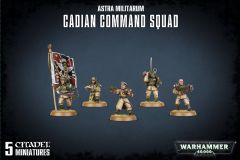 Cadian Command Squad | Astra Militarum | Warhammer 40,000