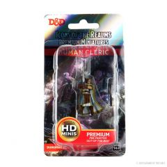 Human Cleric (He/Him/They/Them) | Icons Of The Realms Premium Figure | Wave 4 | Wizkids