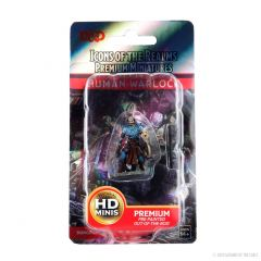 Human Warlock (He/Him/They/Them) | Icons Of The Realms Premium Figure | Wave 4 | Wizkids