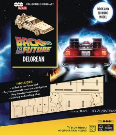 Incredibuilds Back to the Future Delorean 3D Wood Model