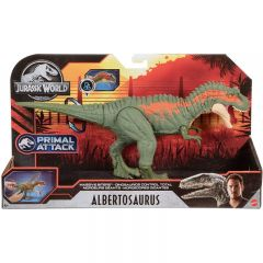 Albertosaurus Massive Biters Action Figure | Jurassic World | Primal Attack