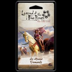 As Honour Demands Dynasty Pack - L5R LCG