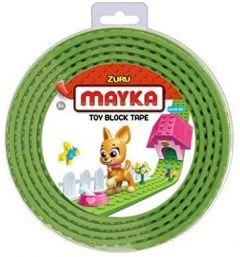 Light Green 2 Stud Mayka Toy Block Tape