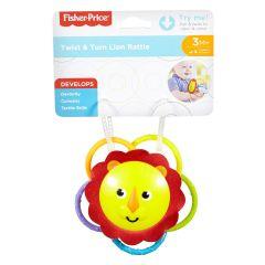 Fisher-Price Twist & Turn Lion Rattle