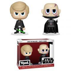 Luke Skywalker & Darth Vader VYNL 2 Pack - Funko