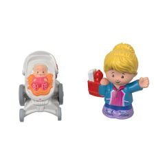 Mom & Baby in Stroller | Little People | Fisher Price
