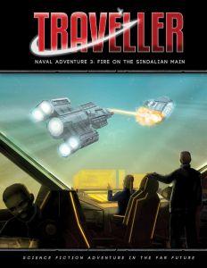 Fire on the Sindalian Main Adventure | Traveller RPG