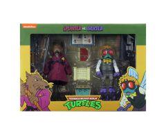 Splinter And Baxter Stockman   Action Figure 2 Pack   Teenage Mutant Ninja Turtles Cartoon   NECA