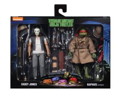 Casey Jones and Raphael in disguise - Teenage Mutant Ninja Turtles 1990 Movie Action Figure 2 Pack - NECA