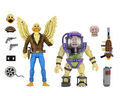 PRE-ORDER: Ace Duck and Mutagen Man   Action Figure 2 Pack   Teenage Mutant Ninja Turtles Cartoon   NECA