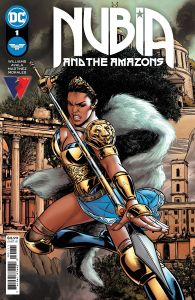 NUBIA & THE AMAZONS #1 (OF 6) COVER A MARTINEZ