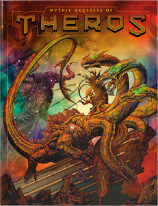 Mythic Odysseys of Theros (Alernate Cover): Dungeons & Dragons - D&D