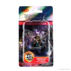 Half-Orc Fighter (She/Her/They/Them) | Icons Of The Realms Premium Figure | Wave 4 | Wizkids