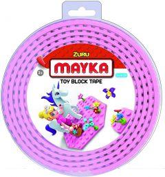 Pink 2 Stud Mayka Toy Block Tape