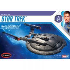 NX-01 Enterprise  1:1000 SNAP KIT - Star Trek: Enterprise Model Kit