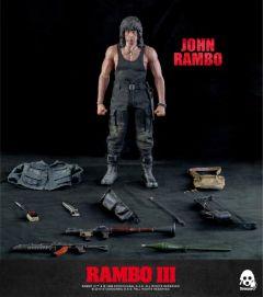 Rambo III John Rambo 1:6 Scale Collectible Figure | Threezero