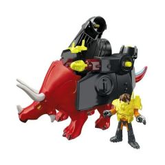 Imaginext Dino Fighter Red Triceratops