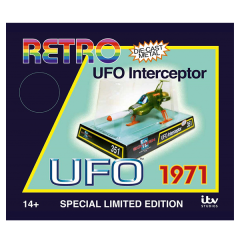 Retro S.H.A.D.O. Interceptor | UFO