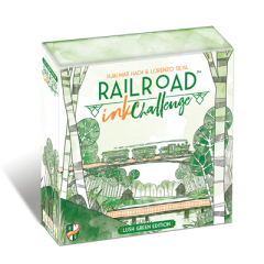 Railroad Ink Challenge   Lush Green Edition