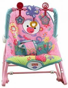 Fisher Price Pink Infant To Toddler Rocker