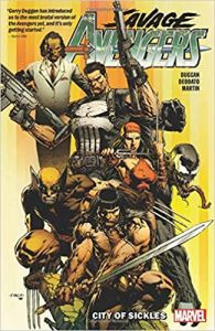 SAVAGE AVENGERS TP VOL 01 CITY OF SICKLES