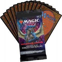 Set Booster Pack | MTG: Adventures in the Forgotten Realms | Magic: The Gathering