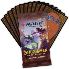 Set Booster Pack | MTG: Strixhaven School of Mages | Magic: The Gathering