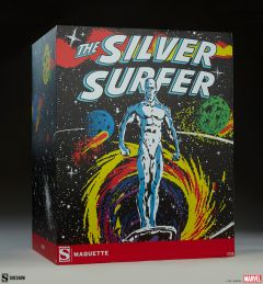Silver Surfer Maquette | Sideshow Collectibles