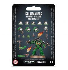 Salamanders Primaris Upgrades & Transfers | Space Marines | Warhammer 40,000