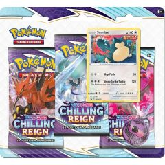 Snorlax Promo 3 Booster Pack | Sword & Shield: Chilling Reign | Pokemon TCG