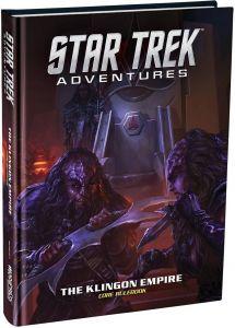 Klingon Empire Core Rulebook | Star Trek Adventures RPG