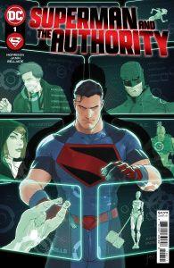 SUPERMAN & AUTHORITY #1 COVER AJANIN